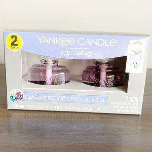 Yankee Candle Scent Plug Oil 2 Pack Lilac Blossoms